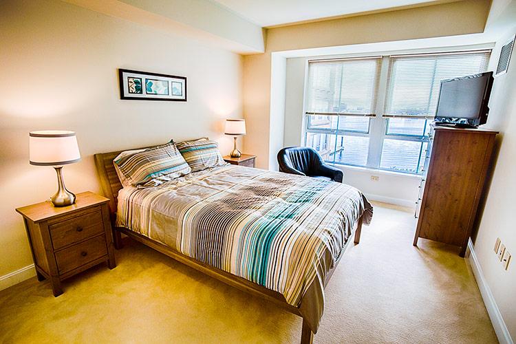 RMH Boston Harbor Apartment 321 Bedroom